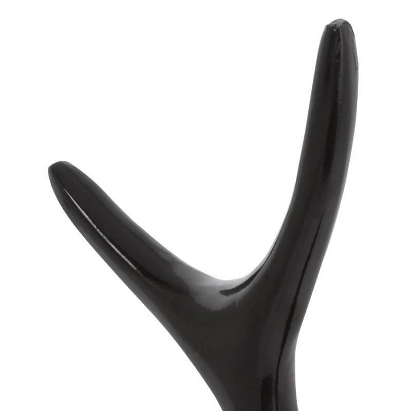 Metal de la joyería línea de árboles (negro) - image 20161