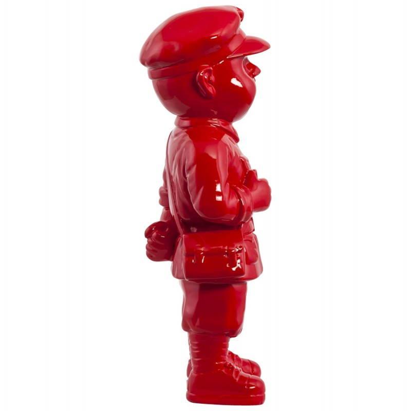 Statue geformt Schneemann Fiberglas SANY (rot)  - image 20216