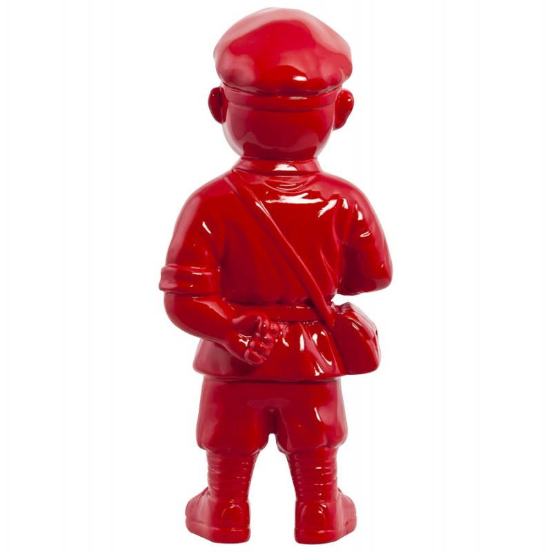Statue geformt Schneemann Fiberglas SANY (rot)  - image 20217