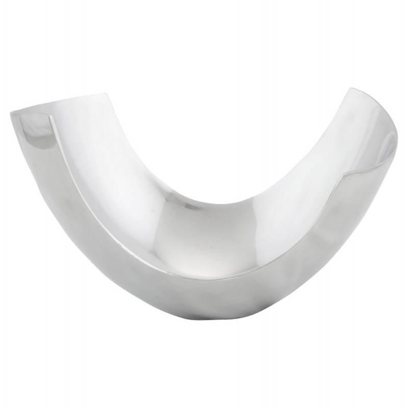 Corbeille multifonctions BOUEE en aluminium poli (aluminium) - image 20277