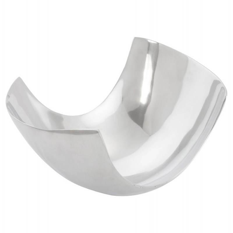 Corbeille multifonctions BOUEE en aluminium poli (aluminium) - image 20280