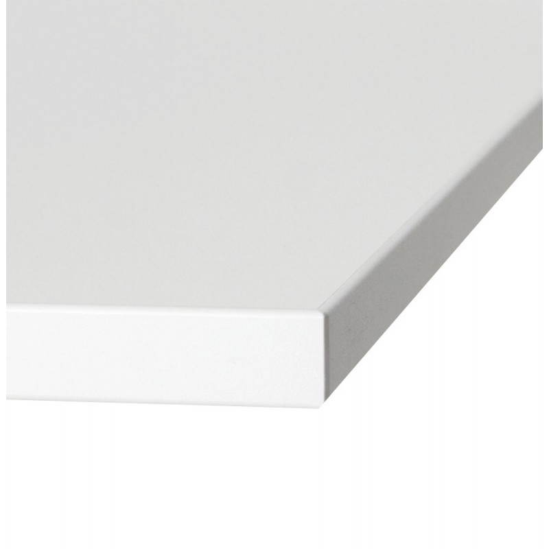 Square table top wood BIRNE (80cmX80cmX2cm) (white) - image 20329