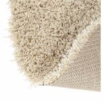 Contemporary rugs and design MIKE round large model (Ø 200 cm) (cream)