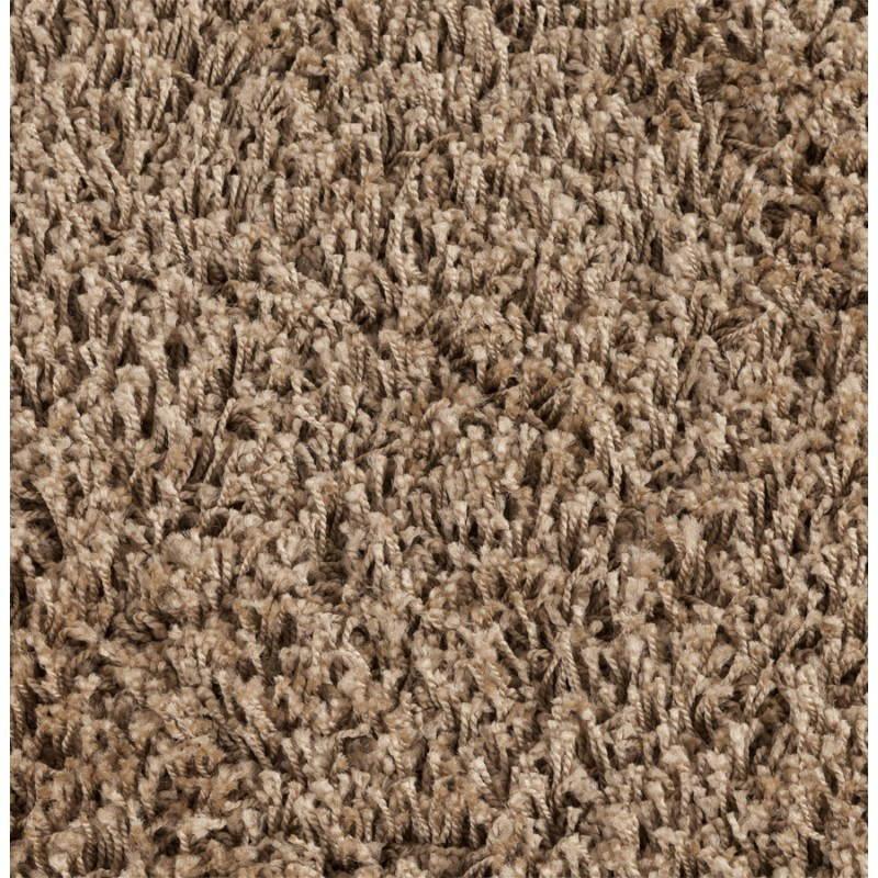 zeitgen ssische teppiche und design modell kleine runde mike 160 cm braun. Black Bedroom Furniture Sets. Home Design Ideas