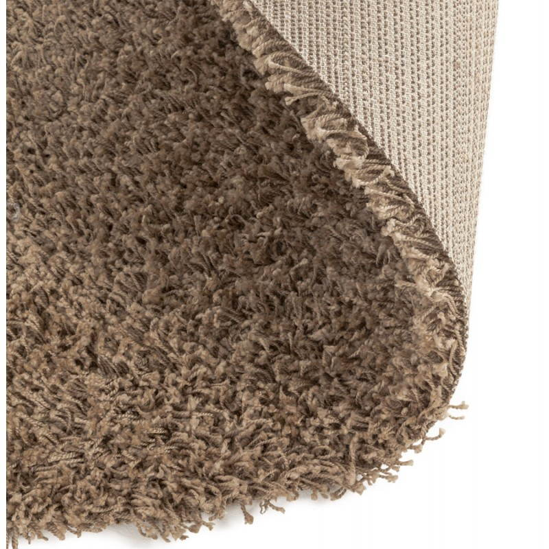 Contemporary rugs and design model large round MIKE (Ø 200 cm) (Brown) - image 20371