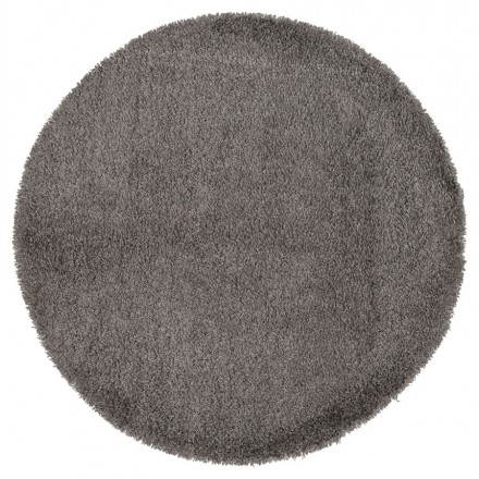 Contemporary rugs and design MIKE round small model (Ø 160 cm) (grey)