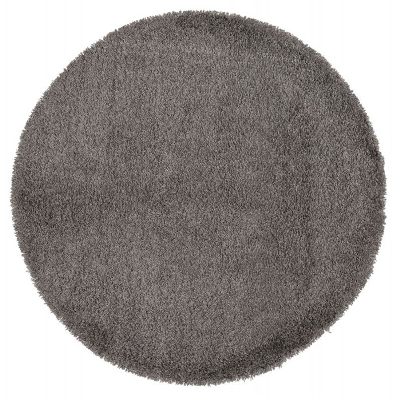 Contemporary rugs and design MIKE round small model (Ø 160 cm) (grey) - image 20378