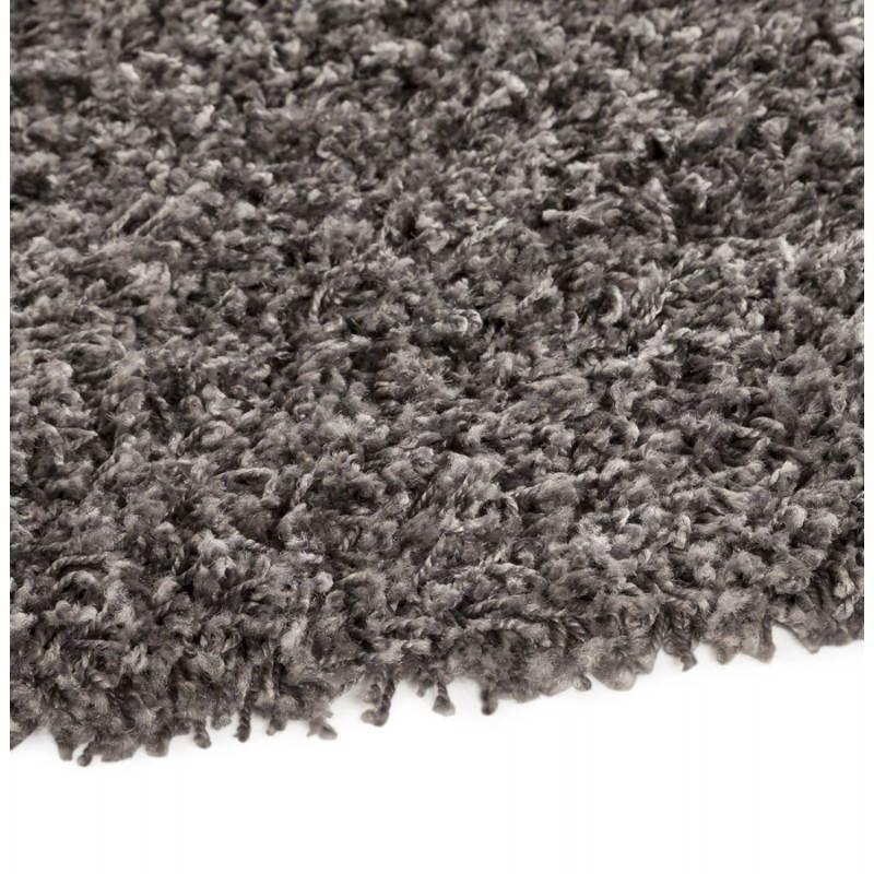 Tappeti contemporanei e design MIKE rotondo modello piccolo (Ø 160 cm) (grigio) - image 20382