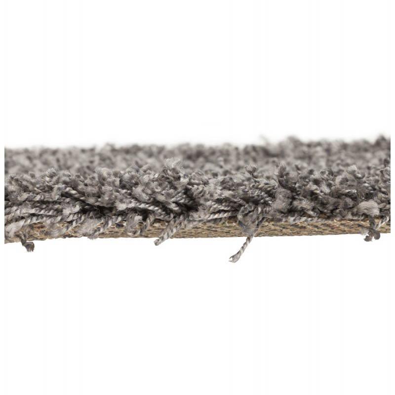 Tappeti contemporanei e design MIKE rotondo modello piccolo (Ø 160 cm) (grigio) - image 20384