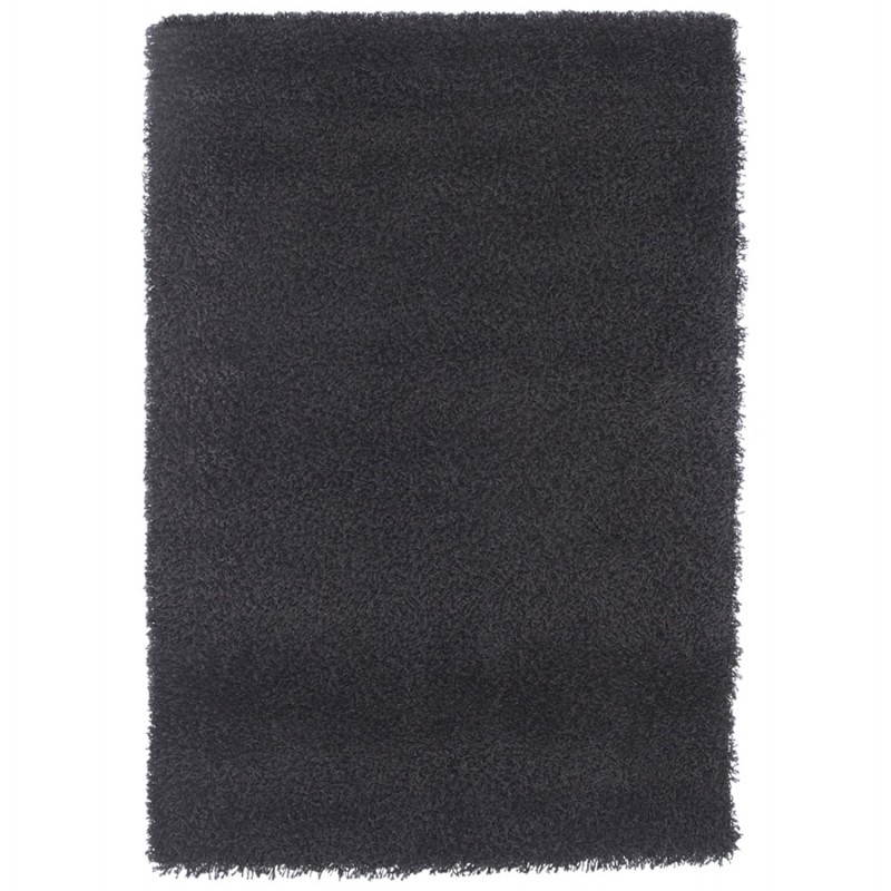 Tapis contemporain et design MIKE rectangulaire (290 X 200) (noir)
