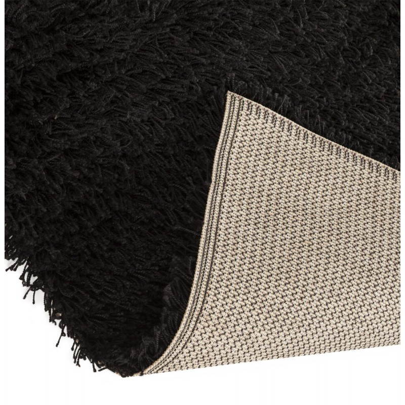 Tapis contemporain et design MIKE rectangulaire (290 X 200) (noir) - image 20400