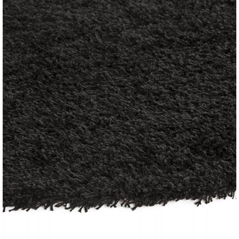 Contemporary rugs and design large round MIKE model (Ø 200 cm) (black) - image 20413