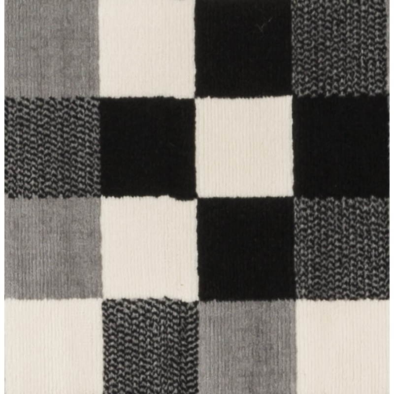 Contemporary rugs and design RONY rectangular (black, grey, white) - image 20484