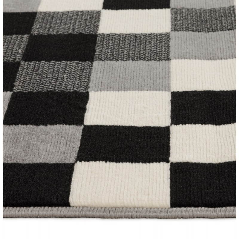 Contemporary rugs and design RONY rectangular (black, grey, white) - image 20485
