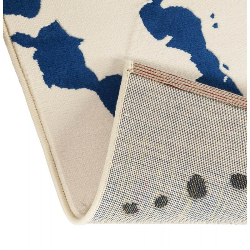 Contemporary rug rectangular design ROUBE (multicolor) - image 20496