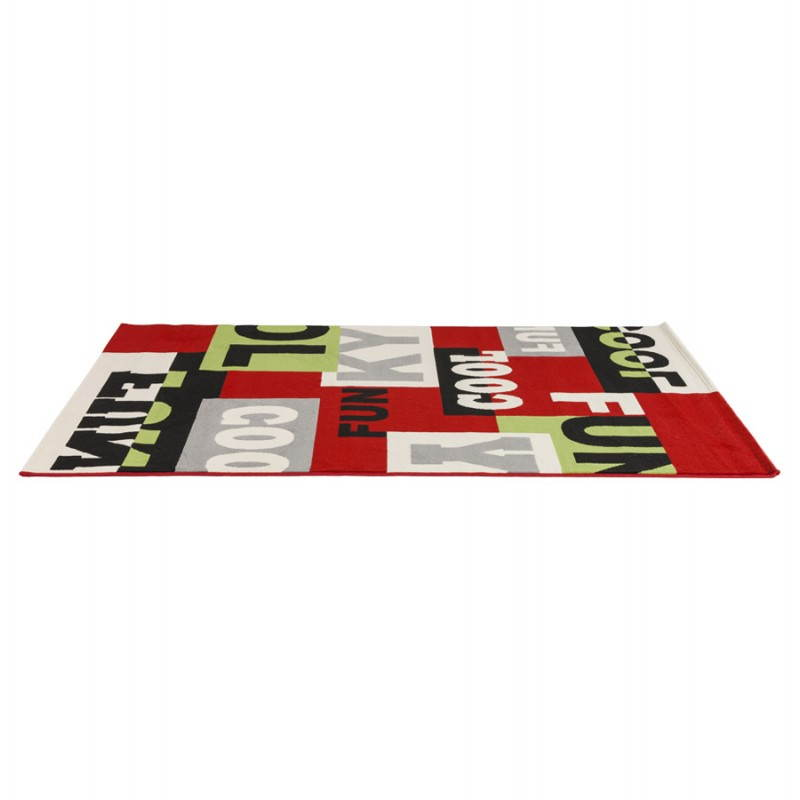 Tapis contemporain et design LOUKAN rectangulaire (160 X 230) (multicolore) - image 20500