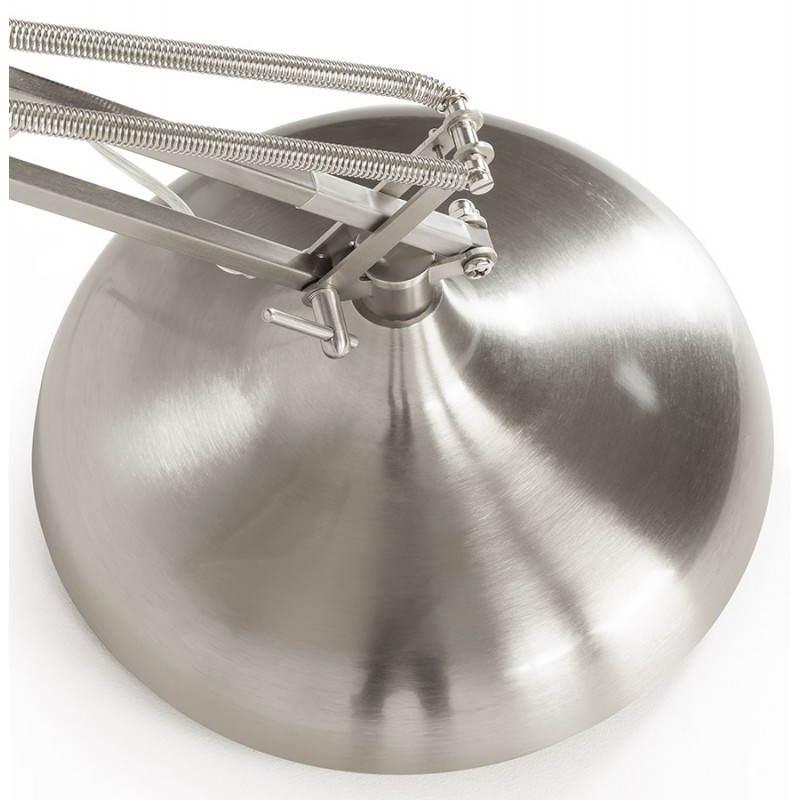 Piedi di lampada design COTINGA spazzolato metallo (alluminio) - image 20515