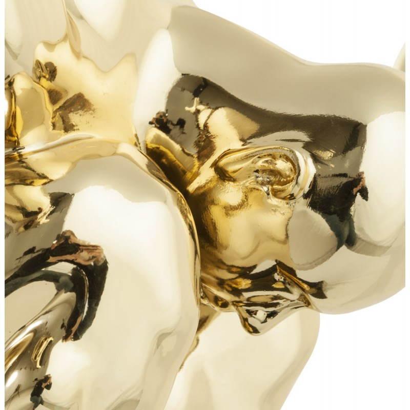 Statue form swimmer BANCO fiberglass (gold) - image 20539