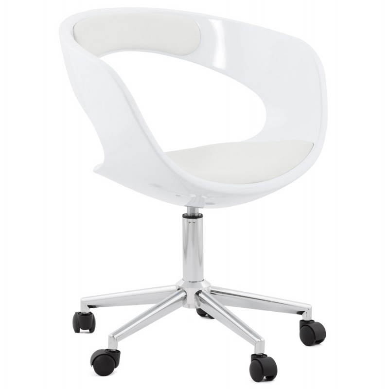 RAMOS rotating sphere office chair (white)
