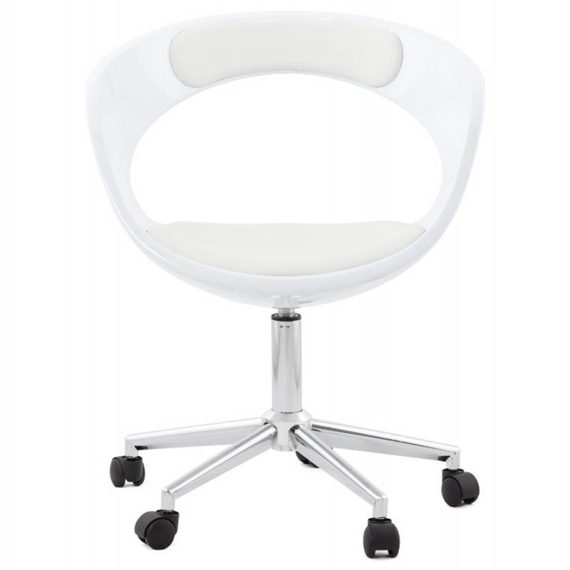 RAMOS rotating sphere office chair (white) - image 20573