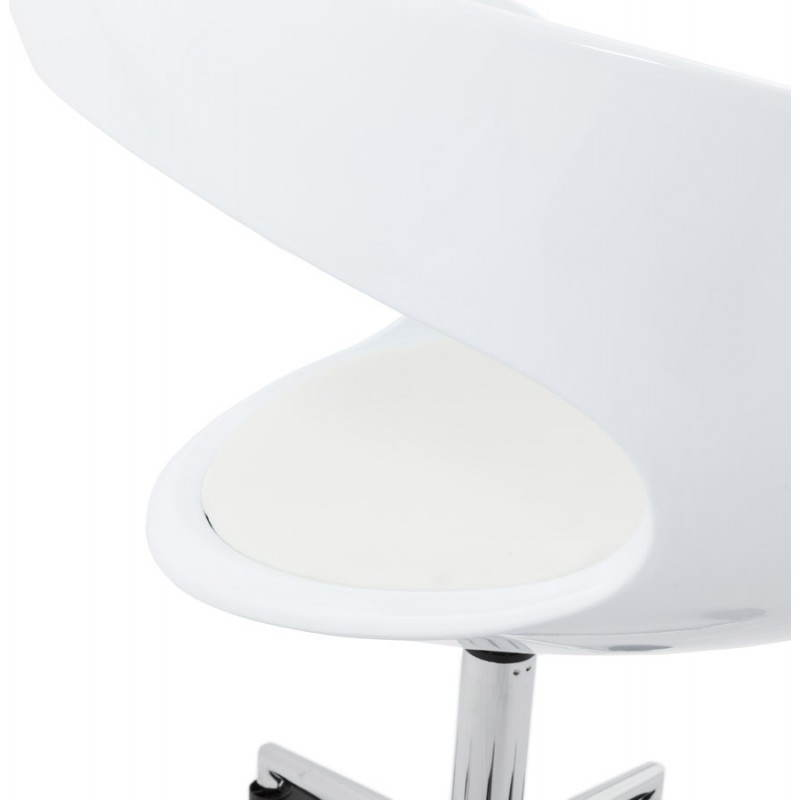 RAMOS rotating sphere office chair (white) - image 20579