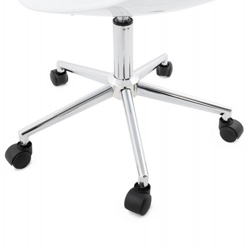 RAMOS rotating sphere office chair (white) - image 20581