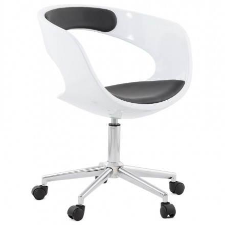 Bürostuhl Sphäre RAMOS rotierende (weiß und schwarz)