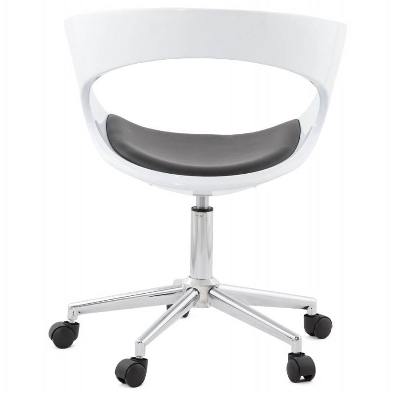 RAMOS rotating sphere office chair (white and black) - image 20588