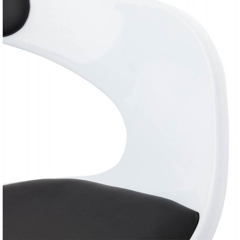 RAMOS rotating sphere office chair (white and black) - image 20591