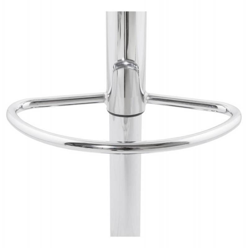 ROBIN Compact Rotary and Adjustable Bar Stool (White) - image 20690