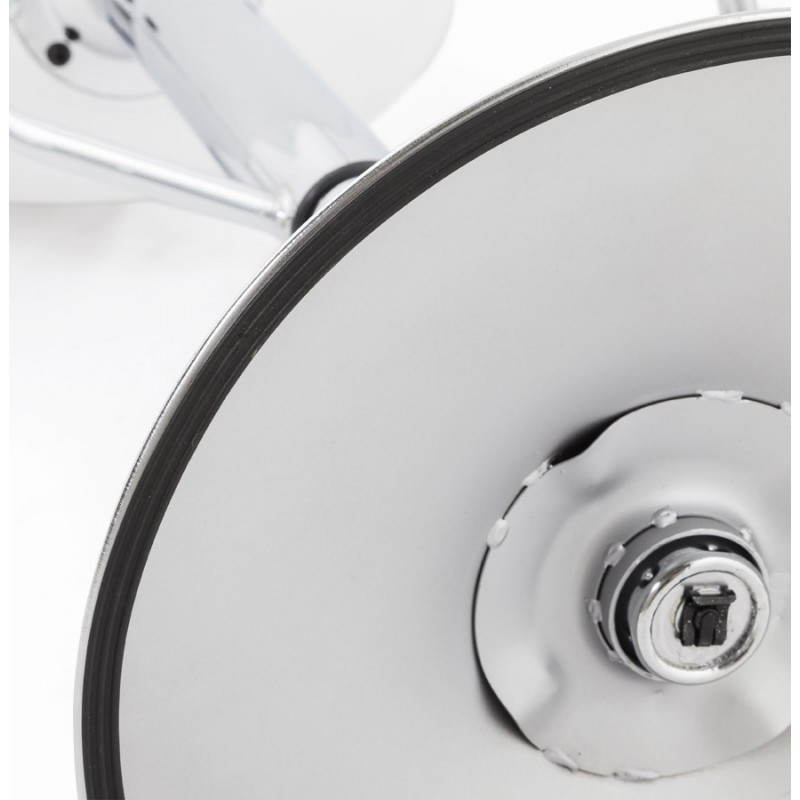 ROBIN Compact Rotary and Adjustable Bar Stool (White) - image 20692