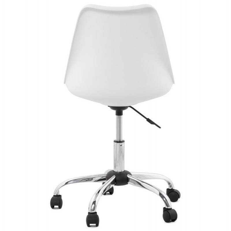 PAUL design office in polyurethane and chrome metal (white and black) Chair - image 20728