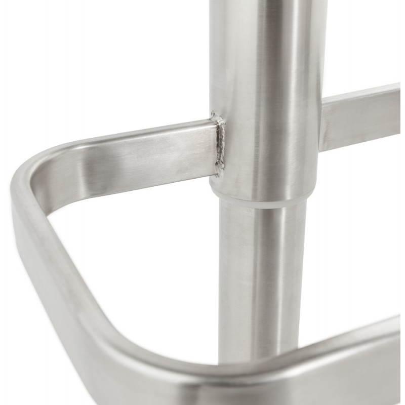 Tabouret de bar matelassé rotatif et réglable ANAIS (noir) - image 20754