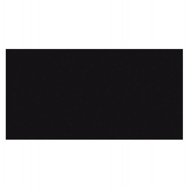 Plateau de table GRENADINE en bois (140cmX70cmX3cm) (noir)