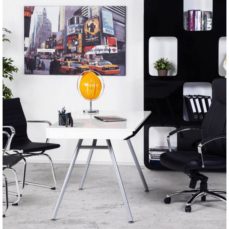 Design office Palau in lacquered wood and painted metal (white) - image 21025