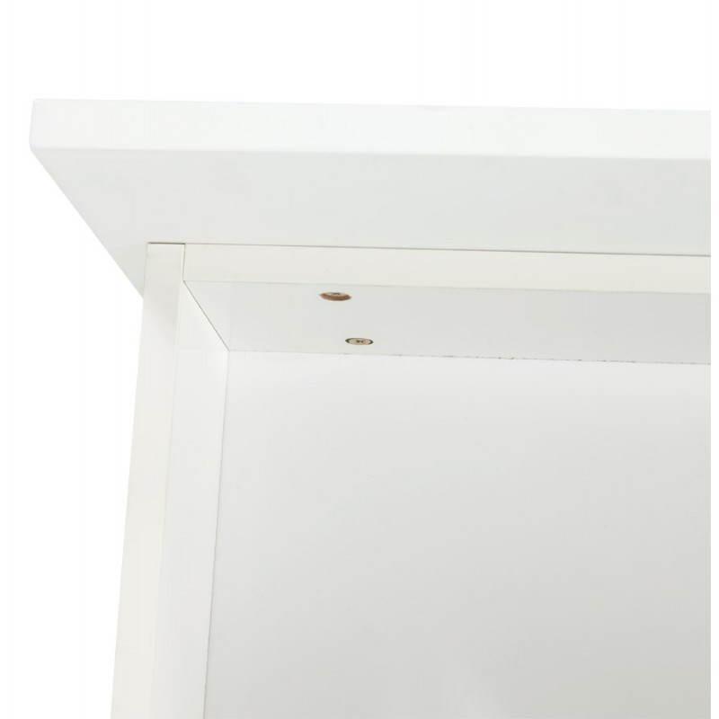 Meuble de rangement bas CORSE en bois laqué (blanc) - image 21163