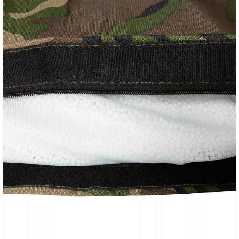 Pouf rectangulaire JANOT en textile (camouflé) - image 21234