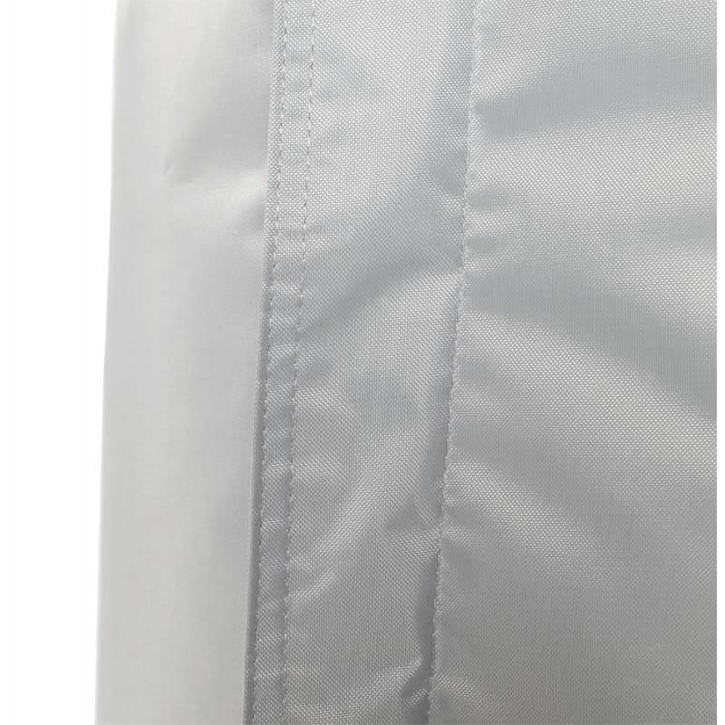 Pouf rectangulaire MILLOT en textile (gris) - image 21268