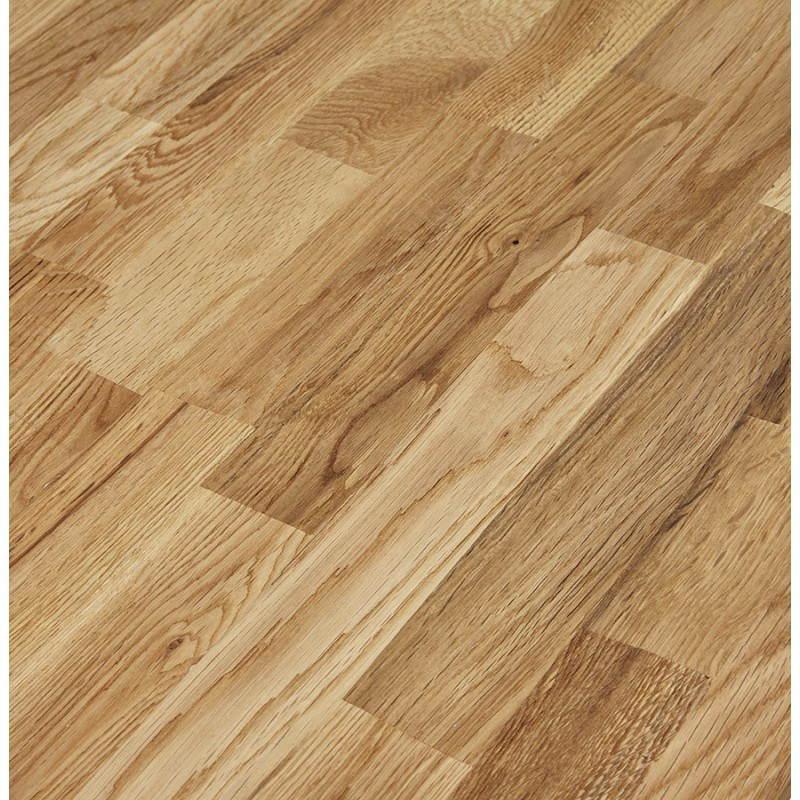 Table moderne rectangulaire NANOU en chêne (bois naturel) - image 21361
