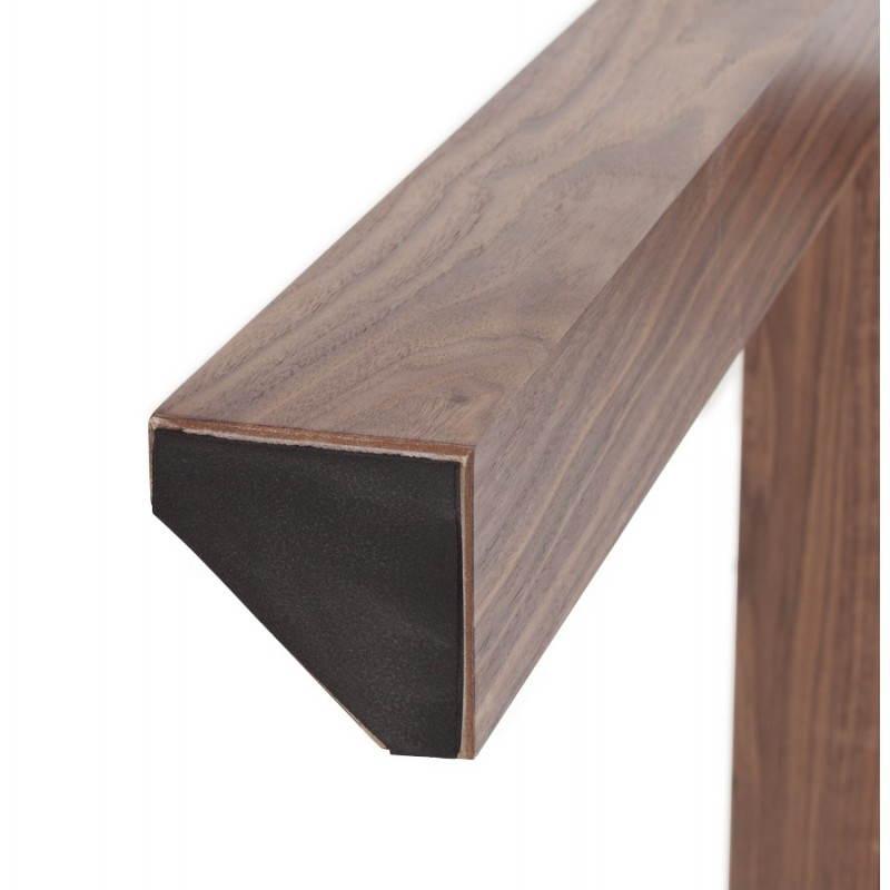 Table design rectangulaire avec rallonge LOULOU en bois (150/200cmX90cmX75cm) (blanc) - image 21446