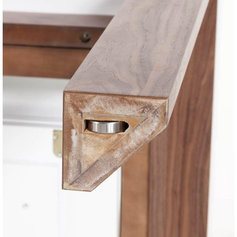 Table design rectangulaire avec rallonge LOULOU en bois (150/200cmX90cmX75cm) (blanc) - image 21447