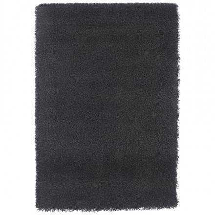 Contemporary carpet and design MIKE rectangular large model (330 X 240) (black)