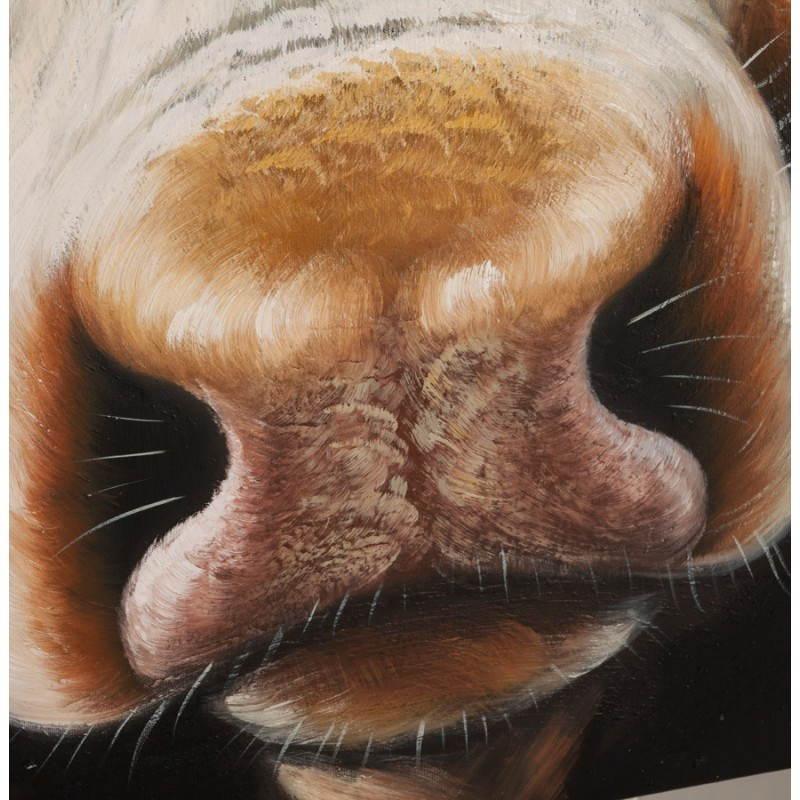 Mucca di tela decorativa  - image 21641