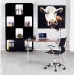 Decorative canvas cow