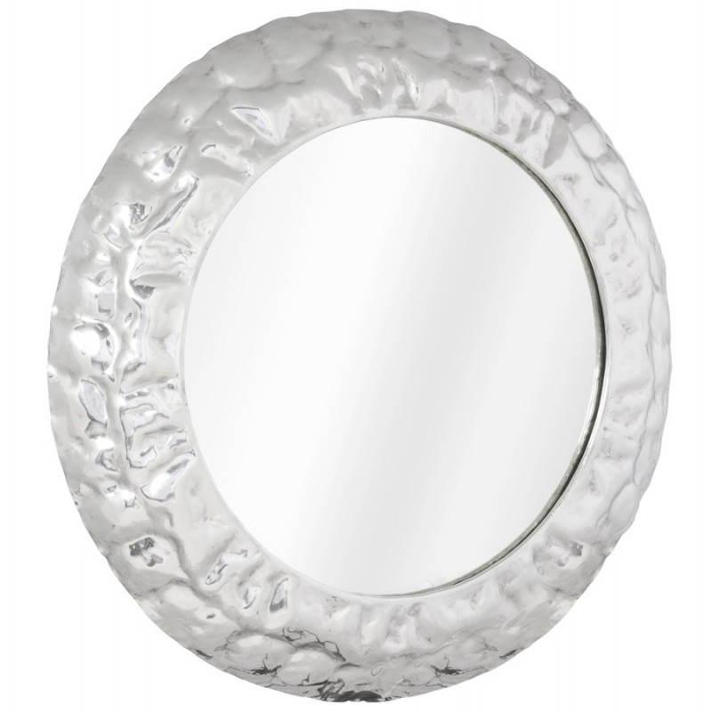 Specchio da parete rotondo in alluminio BELLA  - image 21764