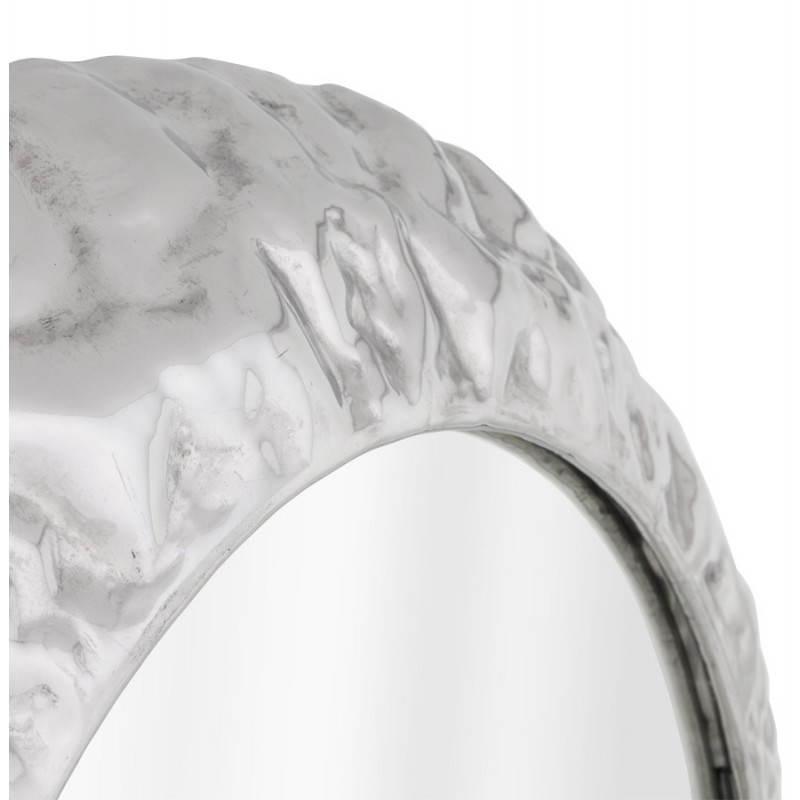 Specchio da parete rotondo in alluminio BELLA  - image 21768