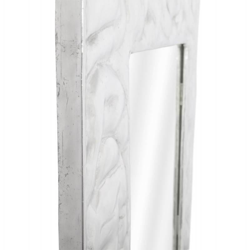 Square wall mirror BELLISSIMA aluminium  - image 21776