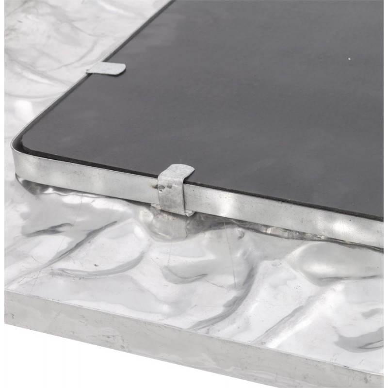 Square wall mirror BELLISSIMA aluminium  - image 21779