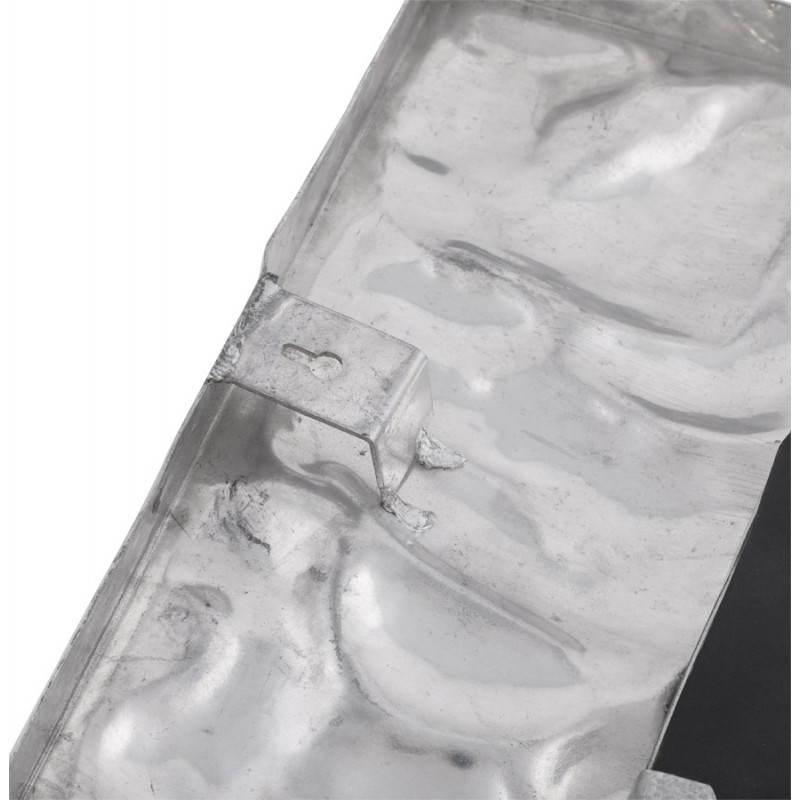 Square wall mirror BELLISSIMA aluminium  - image 21781
