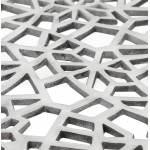 Tavolino quadrata LADY in alluminio